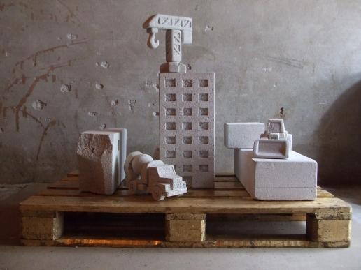 Escultura em Concreto Celular - work from VLAD OLARIU