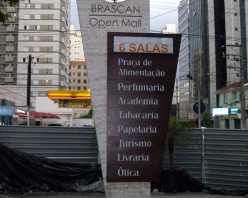 Brascan Open Mall - Concreto Celular aplicado