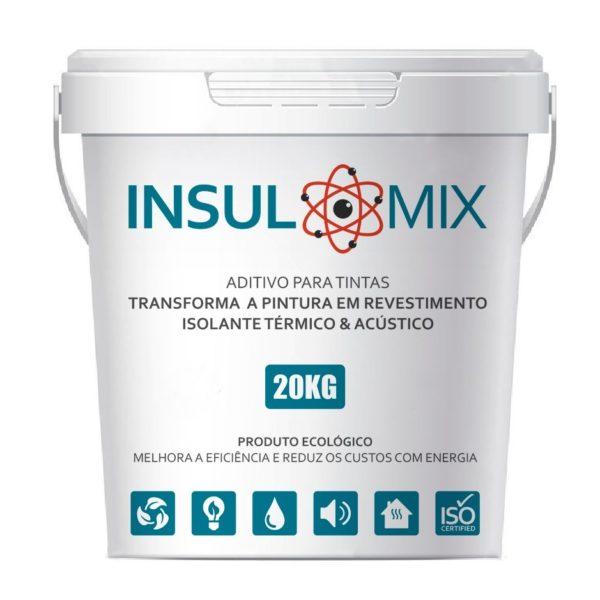 INSULMIX - Aditivo ISOLANTE TÉRMICO para Tintas e Revestimentos da ECOPORE.