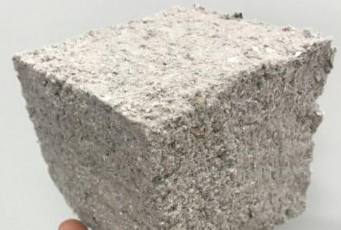 Material Incombustível feito de Papel Reciclado