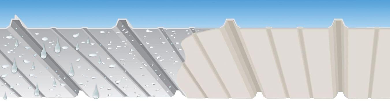 Membrana Anti-Condensação ECO·NO·DR!P® em Telhado Metálico