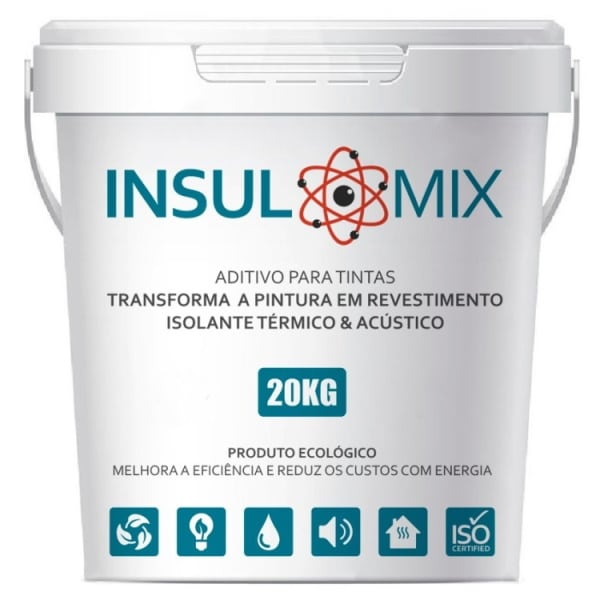INSULMIX - Aditivo Isolante Térmico para Tintas e Revestimentos