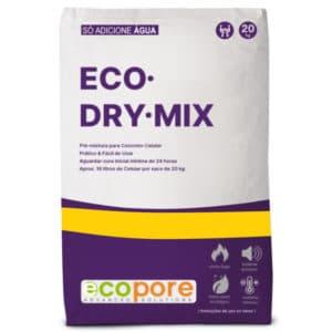 ECO·DRY·MIX - Pré-Mistura para Concreto Celular da ECOPORE.